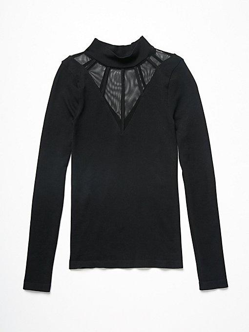 Product Image: Mesh Cage高领上衣