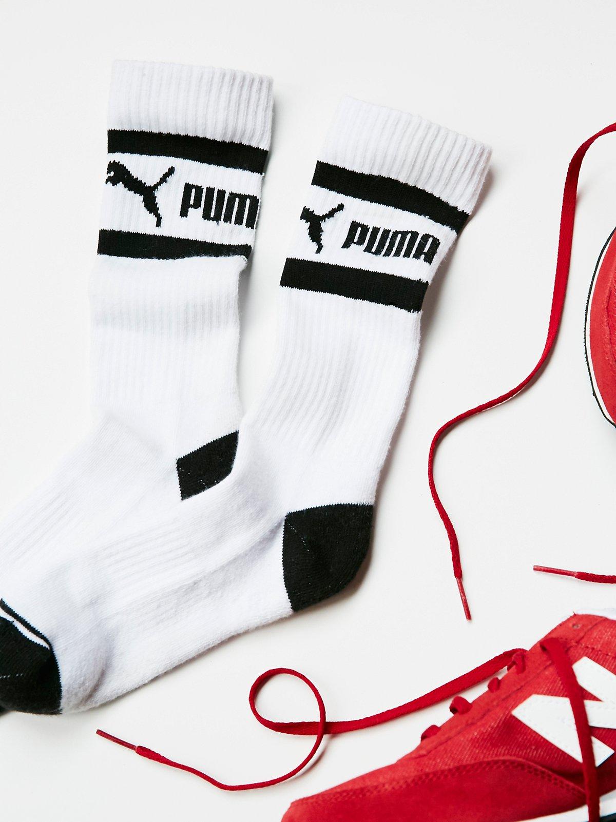 Puma毛圈运动袜