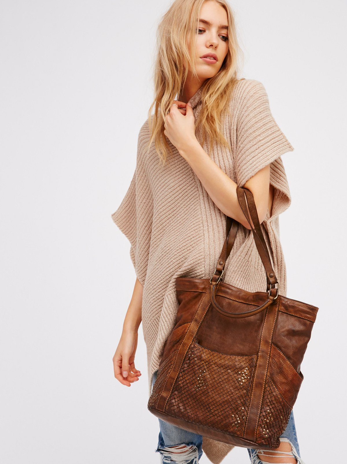Primo Distressed Tote
