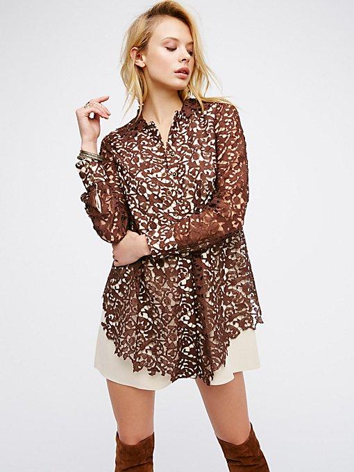 Product Image: Delia Lace Shirt Dress