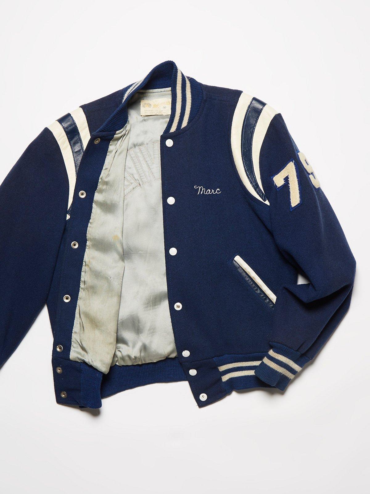 Vintage 1970s Letterman Jacket