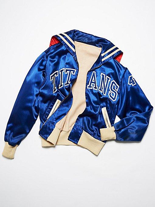 Product Image: Vintage 1970s Titans Letterman Jacket
