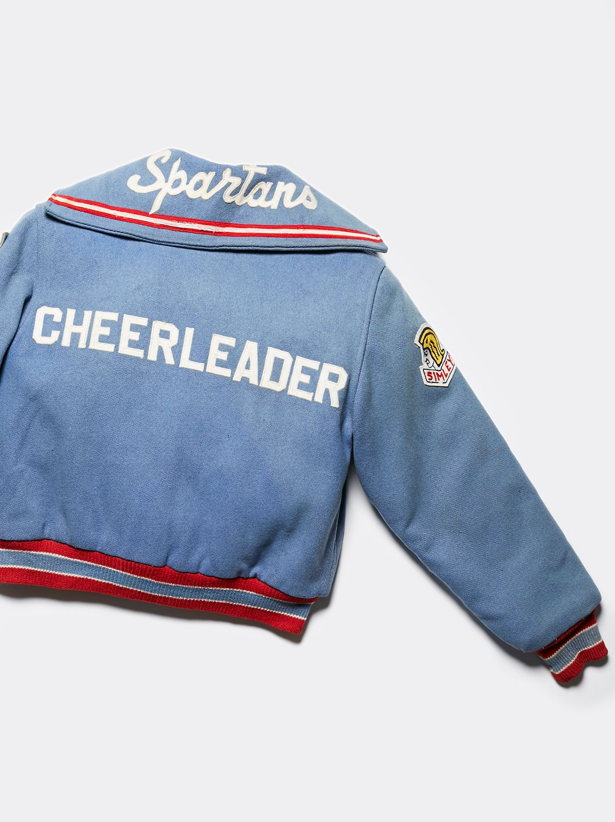 Vintage 1960s Cheer Letterman Jacket