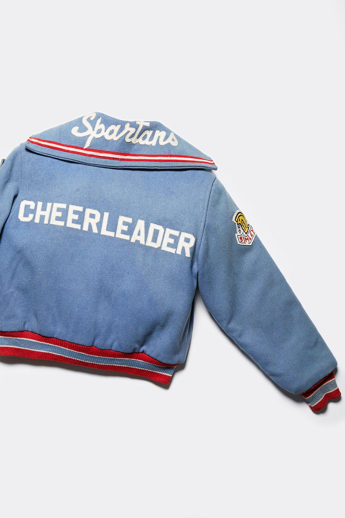 Vintage 1960s Cheer Letterman Jacket