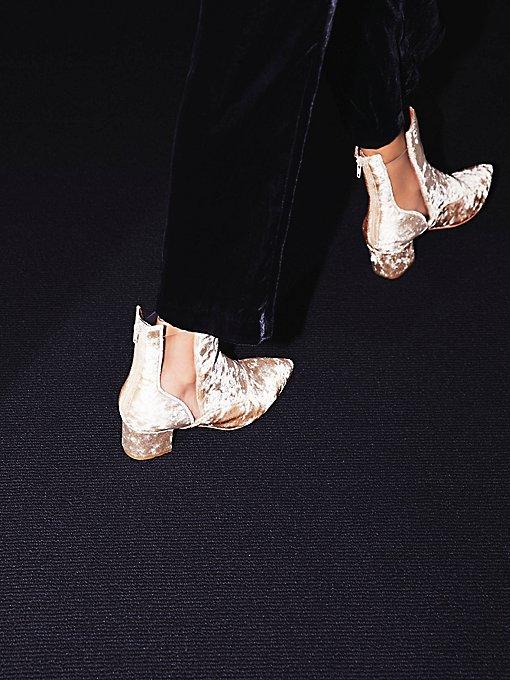 Product Image: Velveteen Heel Boot