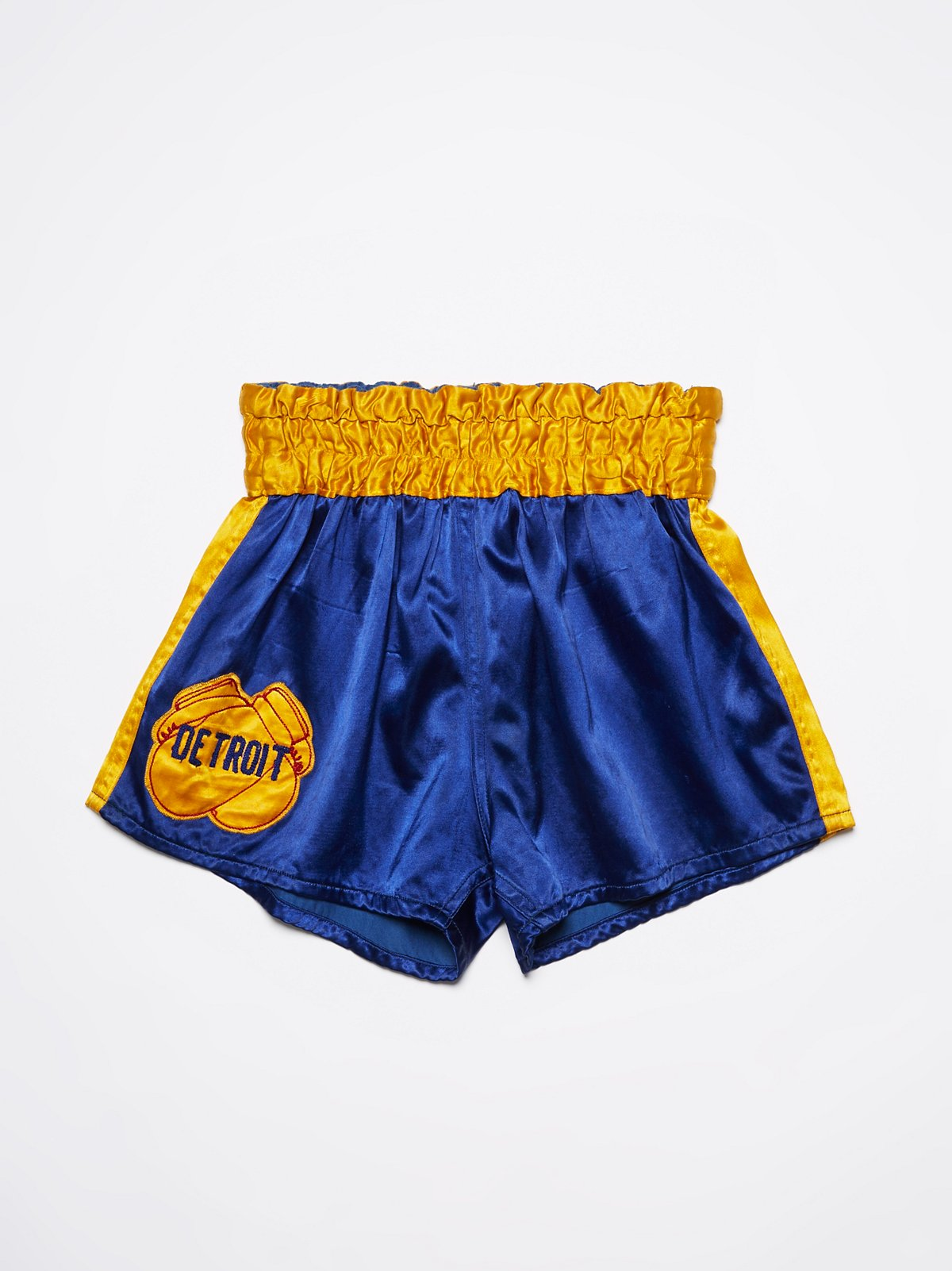 Vintage 1970s Silk Boxing Shorts