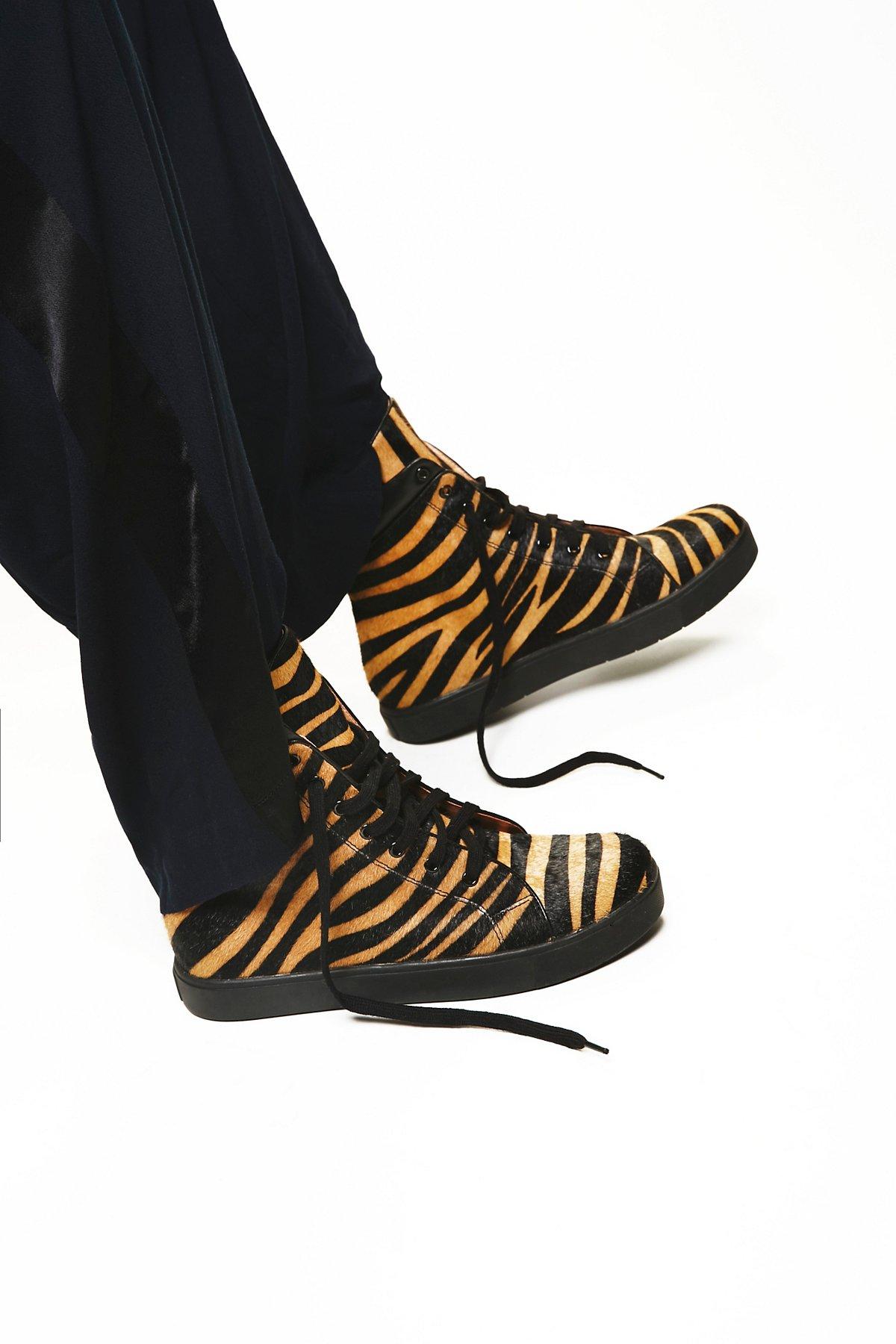 Tiger Hi-Top Sneaker