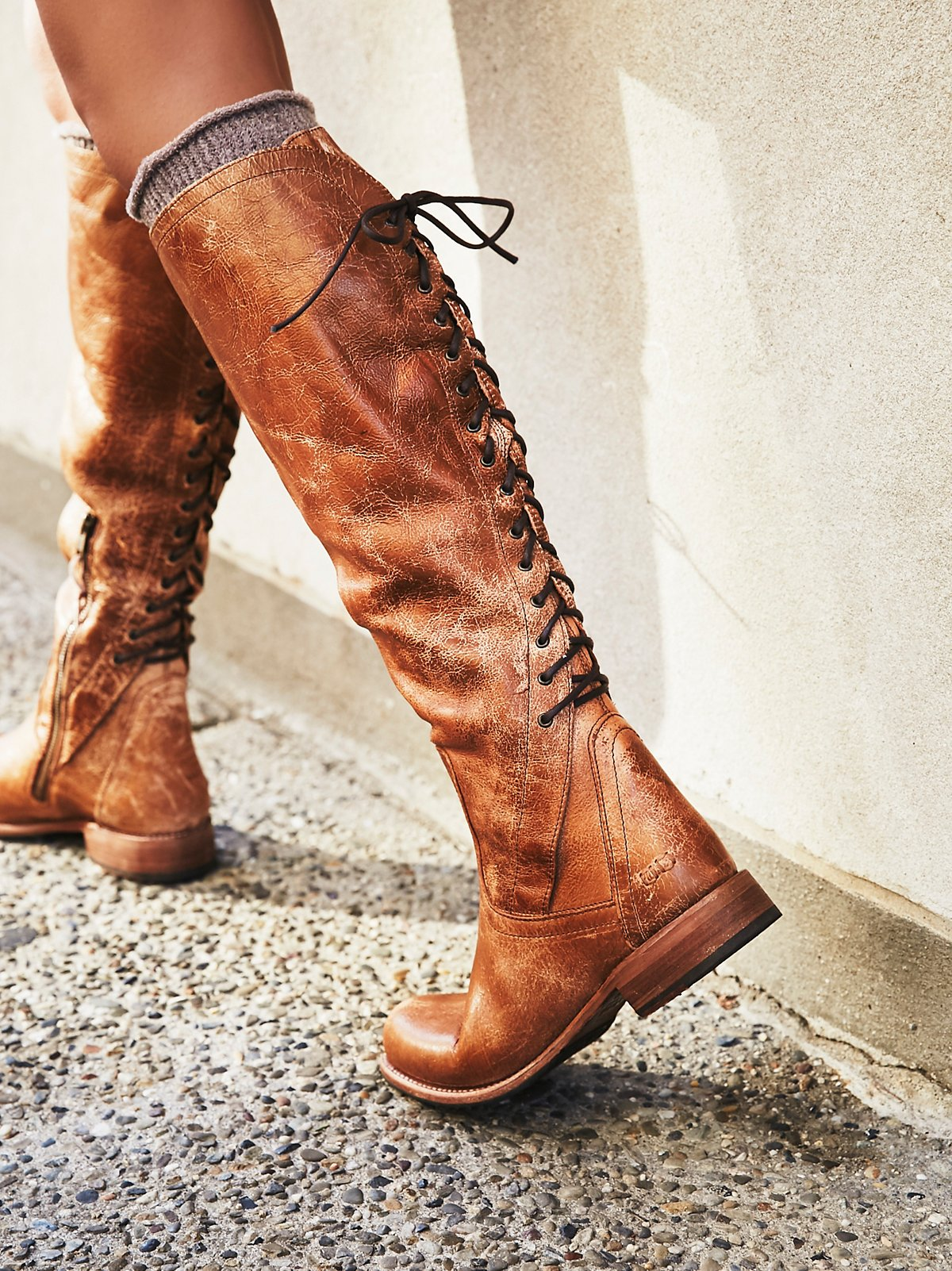 Surry Lace Back Boot