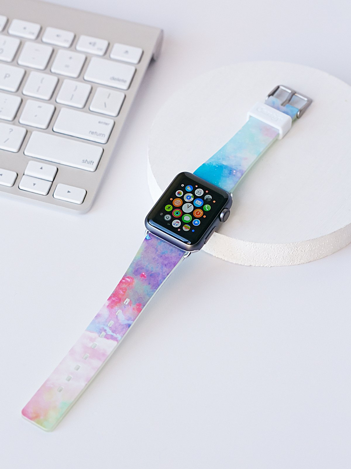 Apple iWatch印花表带