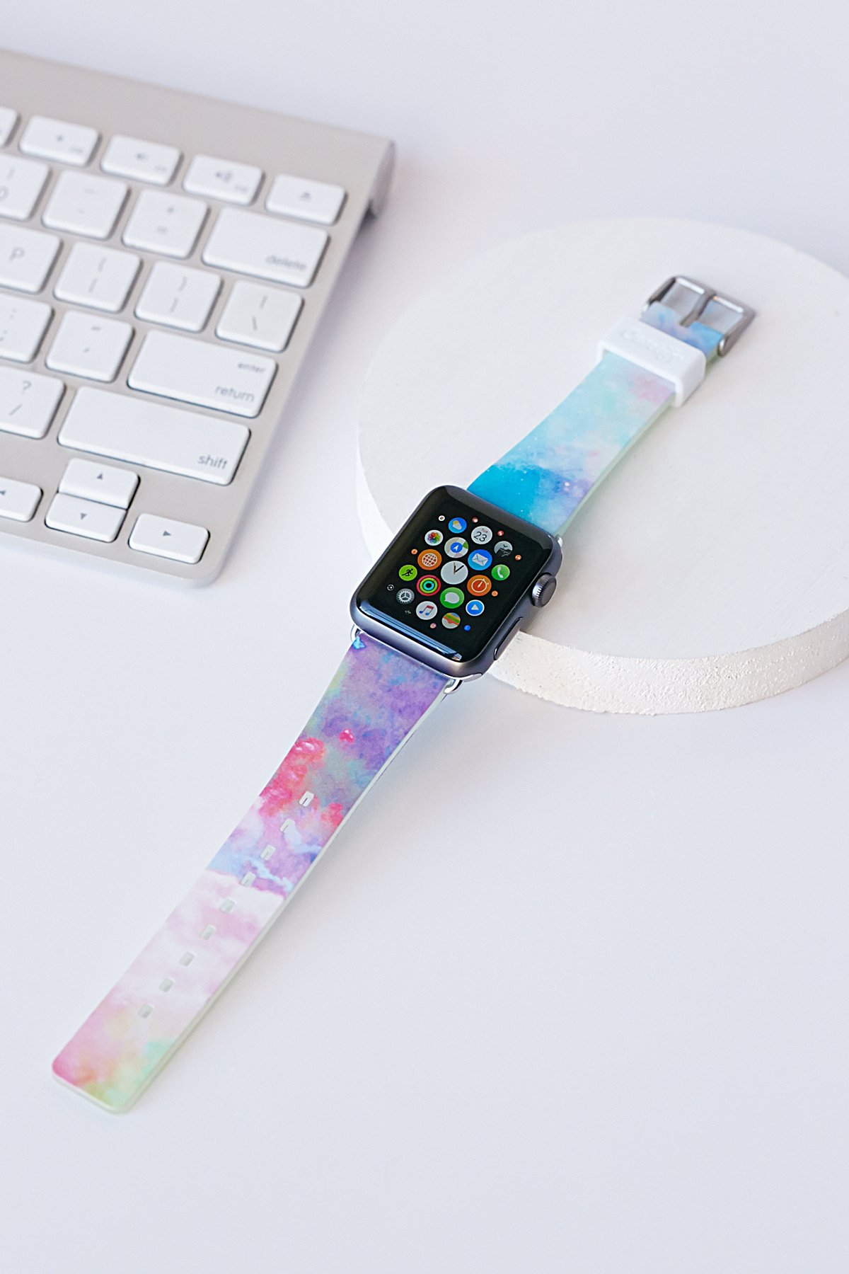 Printed Apple iWatch Band