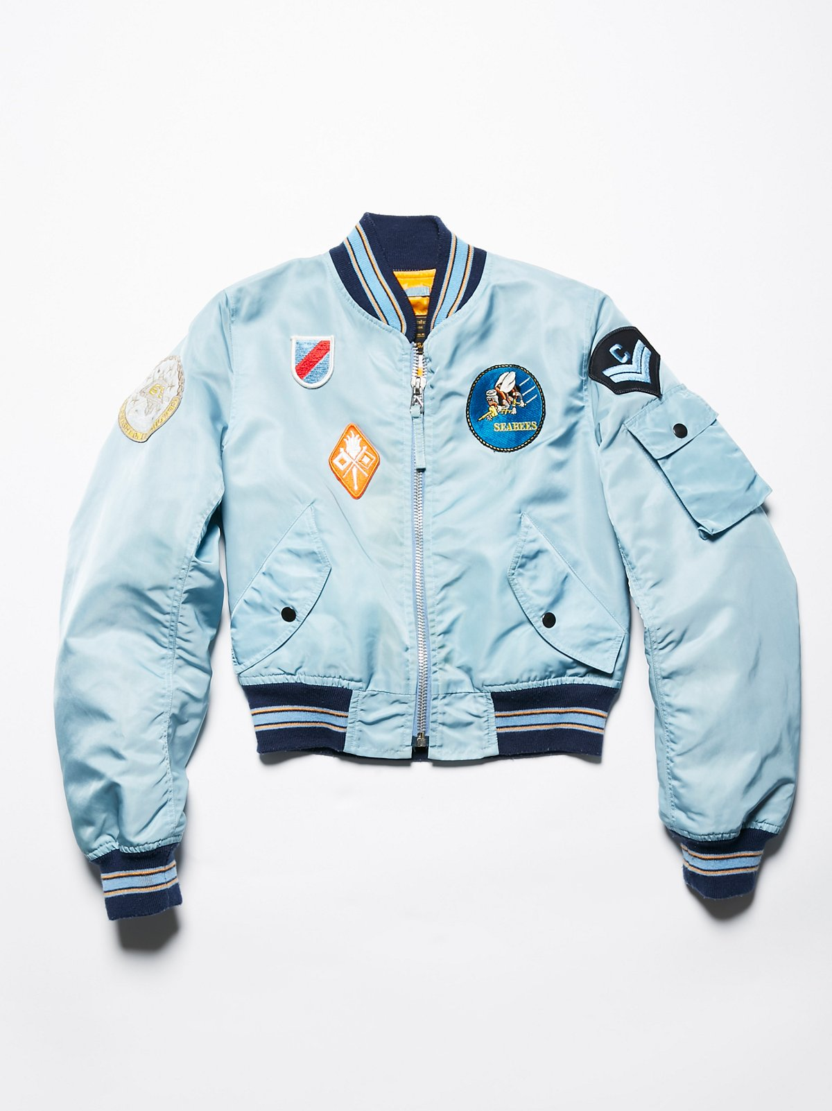 Vintage Flight Bomber Jacket