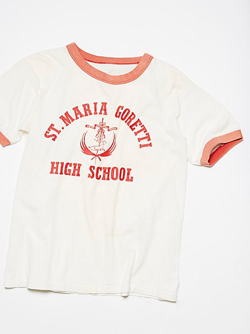 Product Image: Vintage High School Ringer Tee
