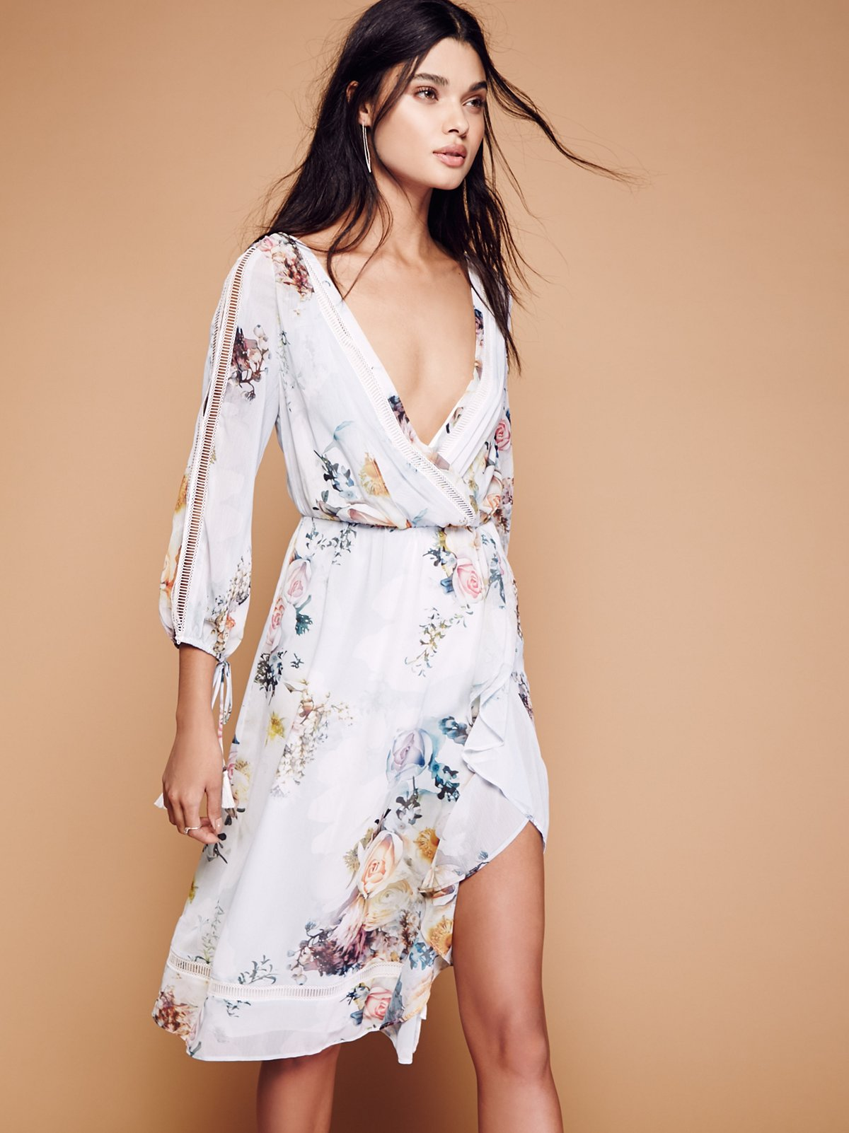 We Are Kindred Primrose Midi Dress At Free People Clothing
