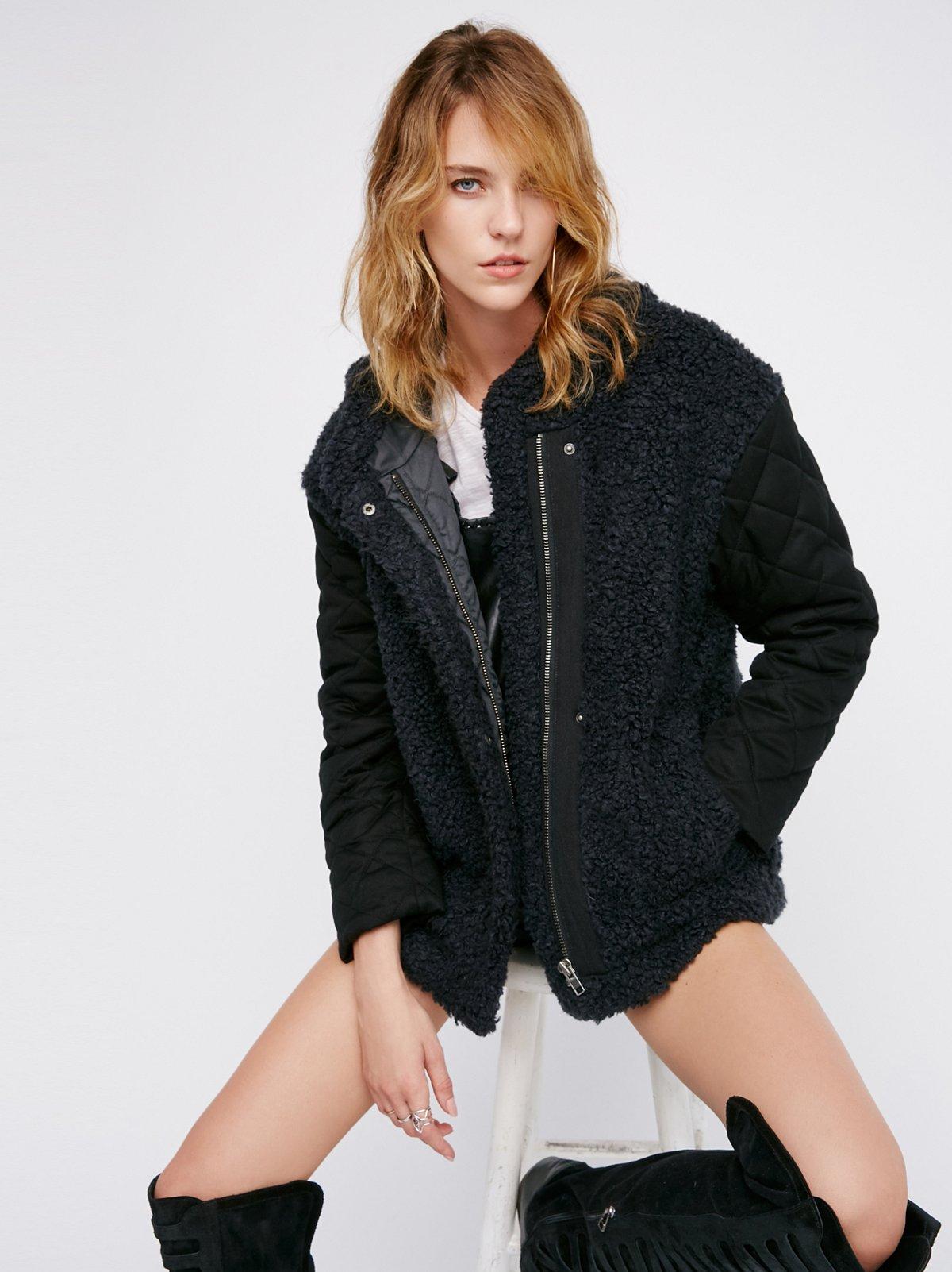 Hooded Terry Coat
