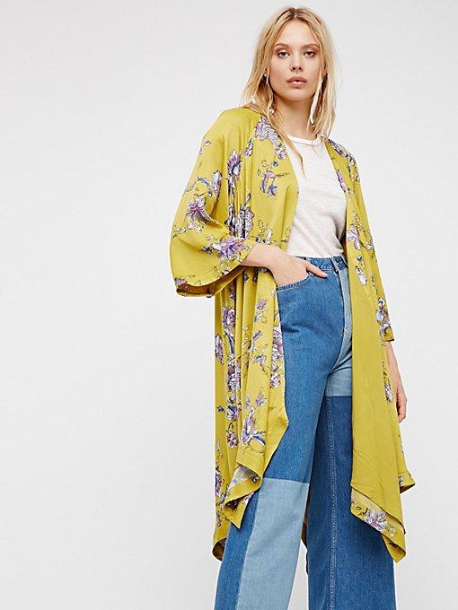 Product Image: Floral Handkerchief Kimono