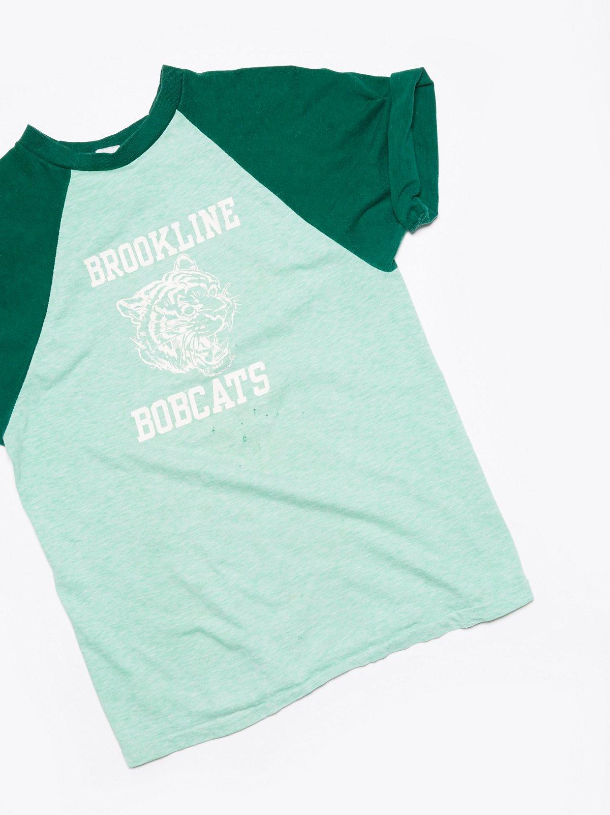 Vintage Brookline Bobcats Tee