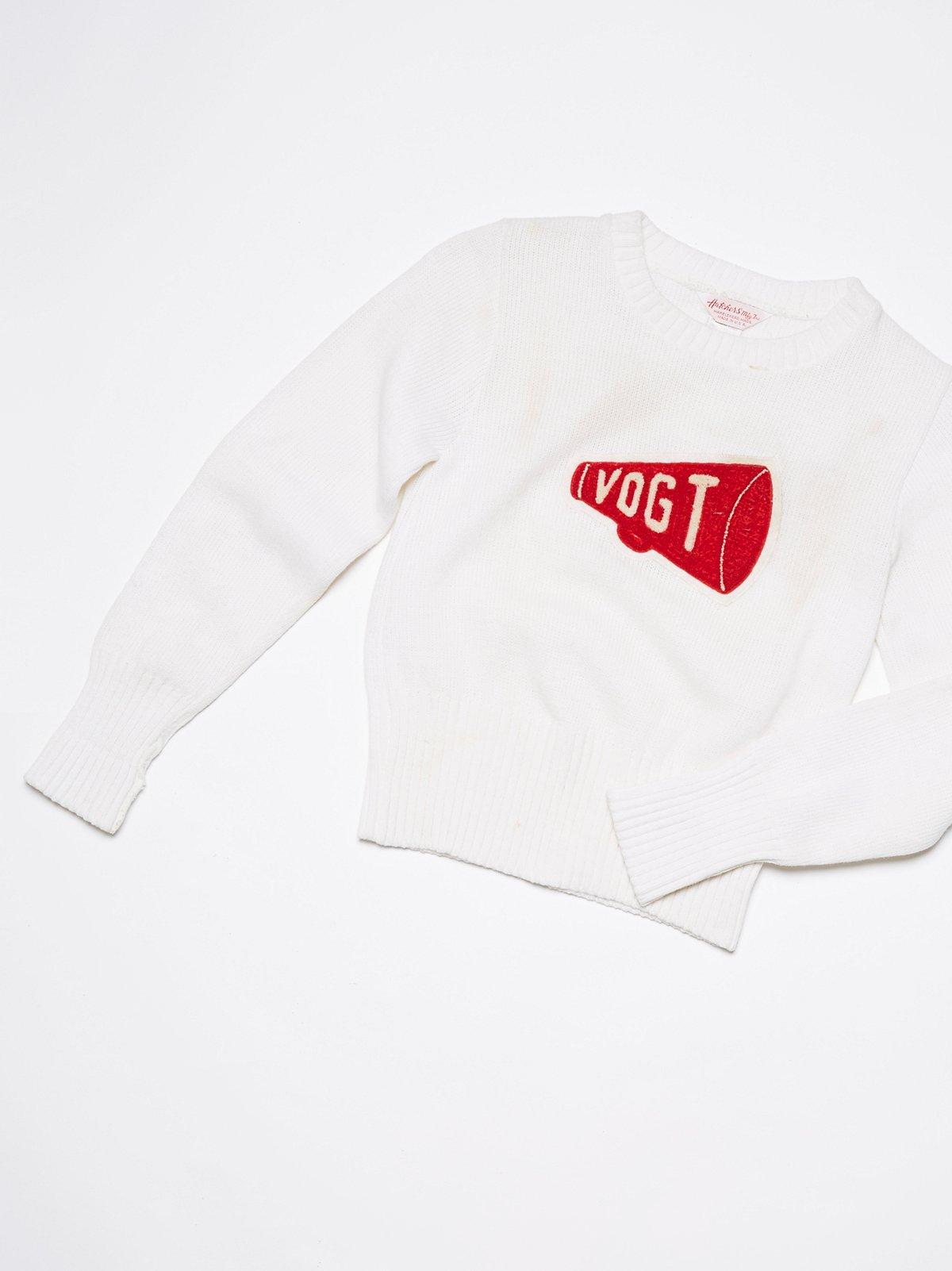 Vintage 1950s Cheerleader Sweater