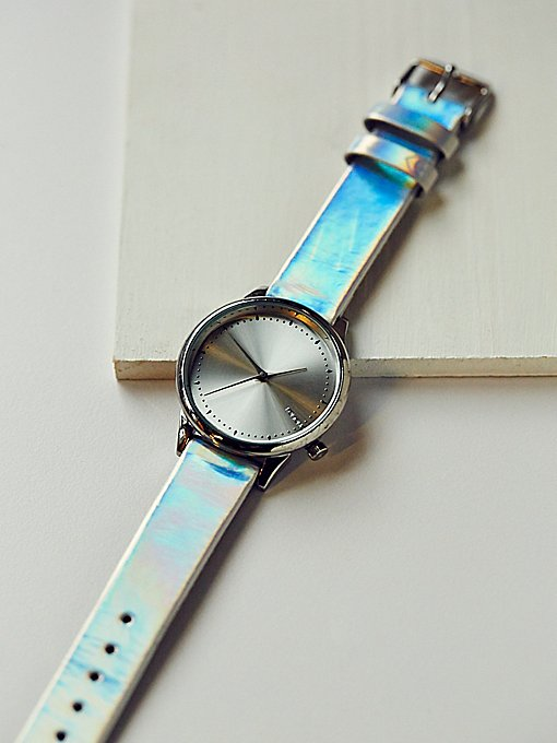 Product Image: Estelle Iridescent Leather Watch