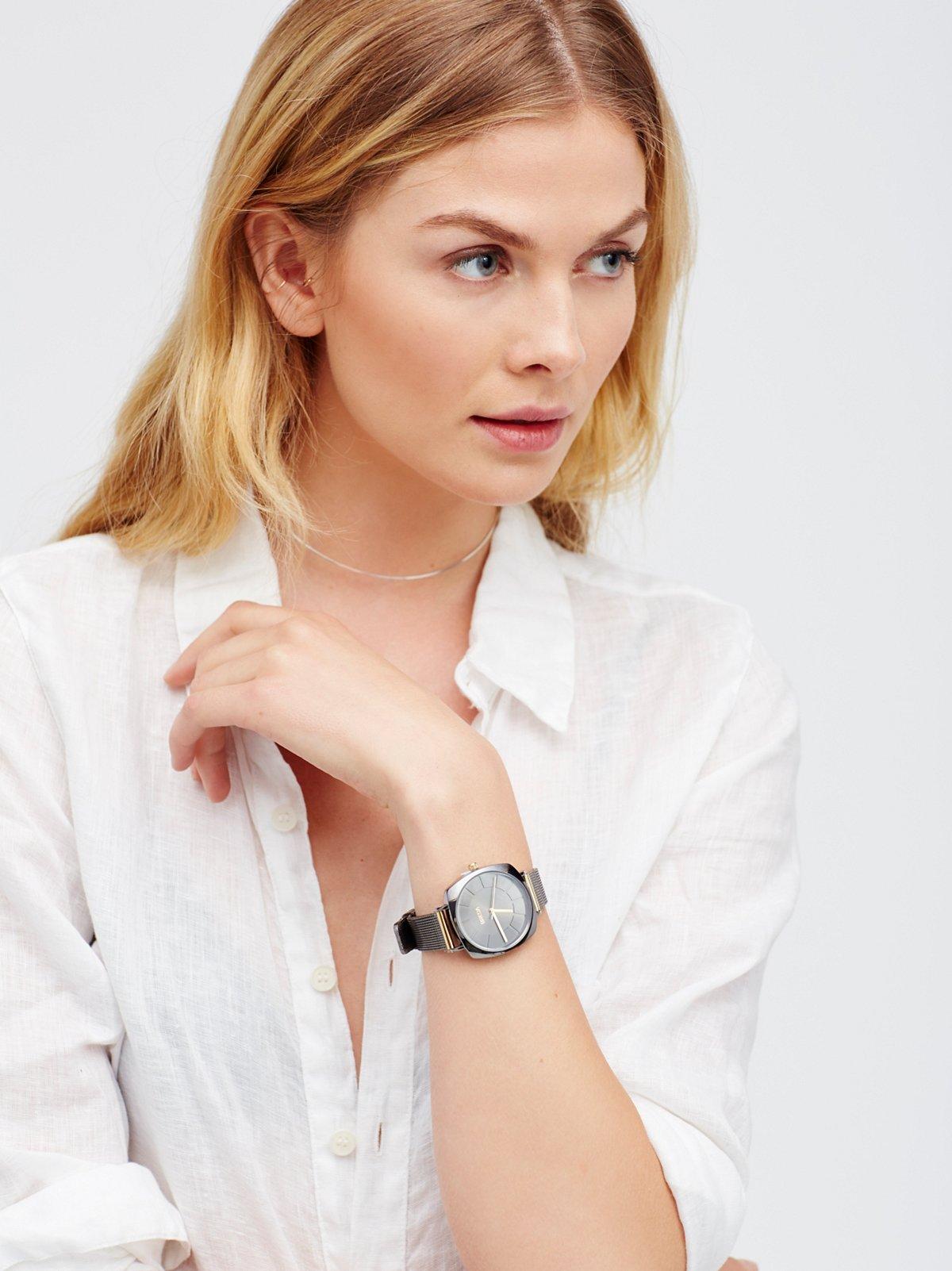 Vix金属带腕表