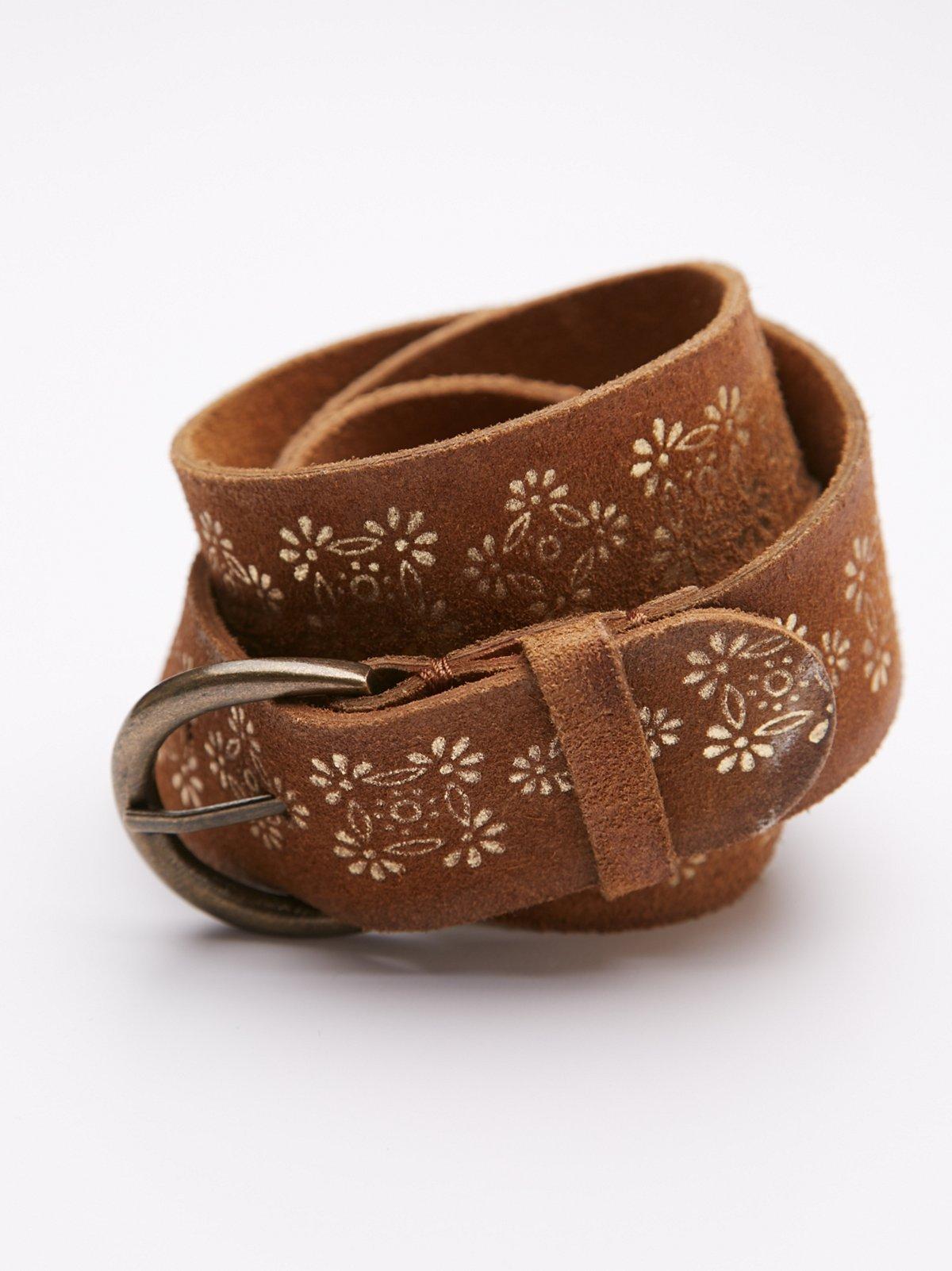 Annie Leather Belt