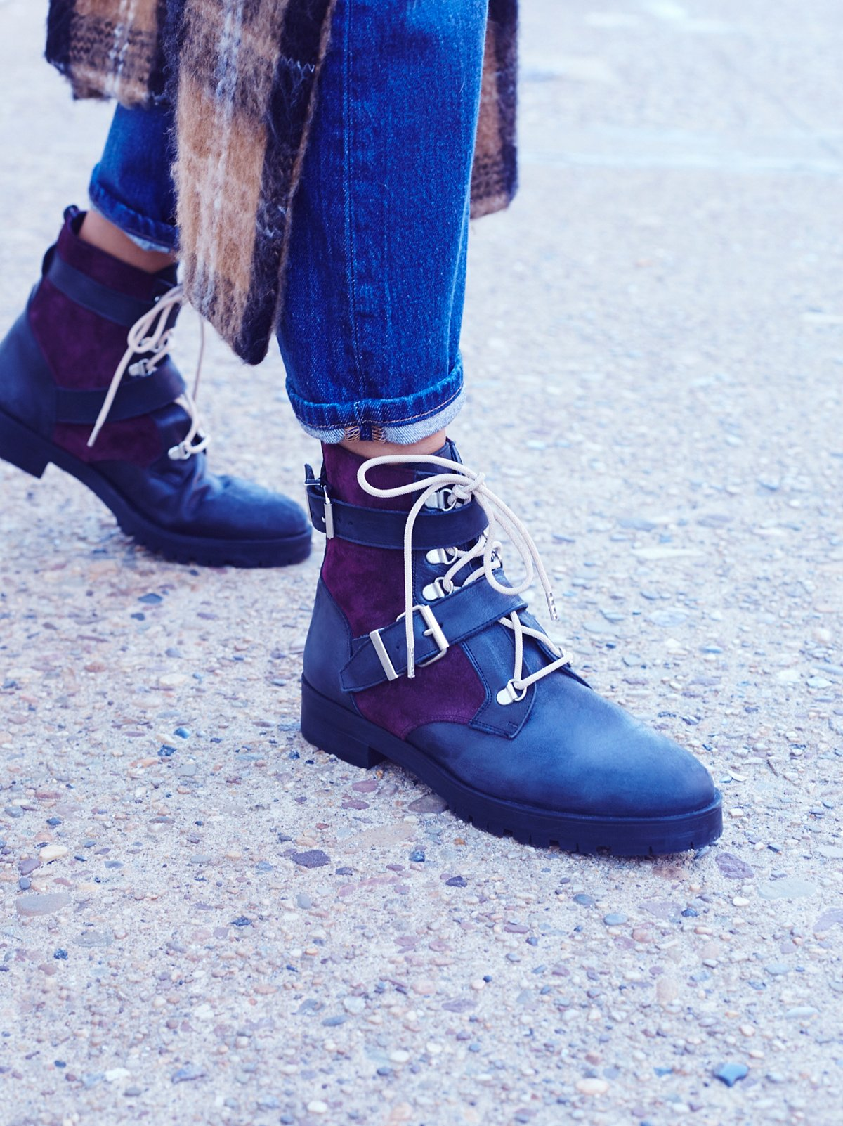 Showdown Lace Up Boot