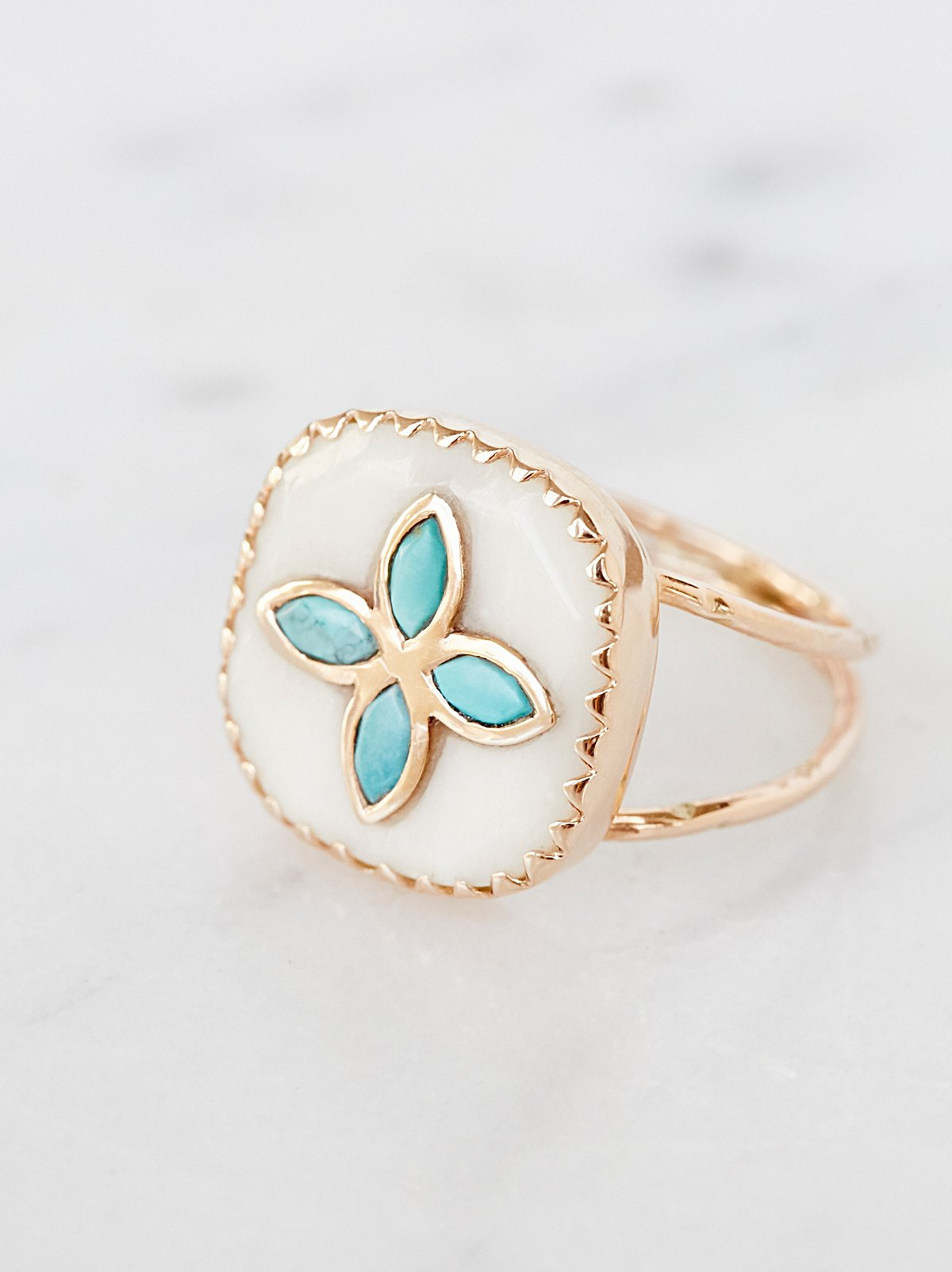 Bowie Turquoise Ring