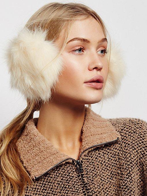 Product Image: Alpine Faux Fur Earmuffs