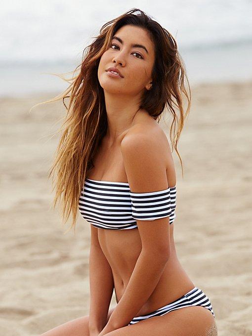 Product Image: Rose Stripe Bikini Top