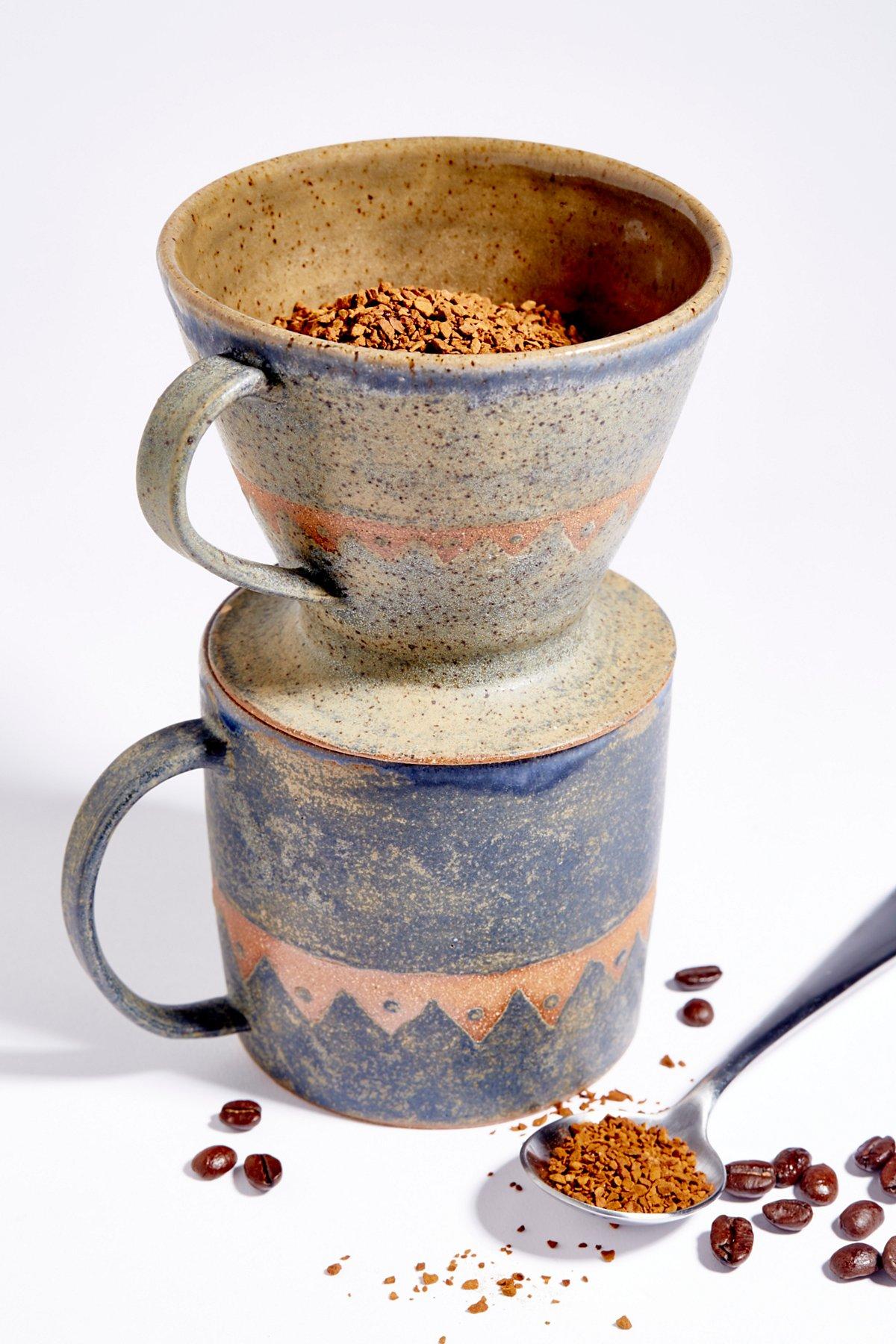 Large Man Mug with Pour Over