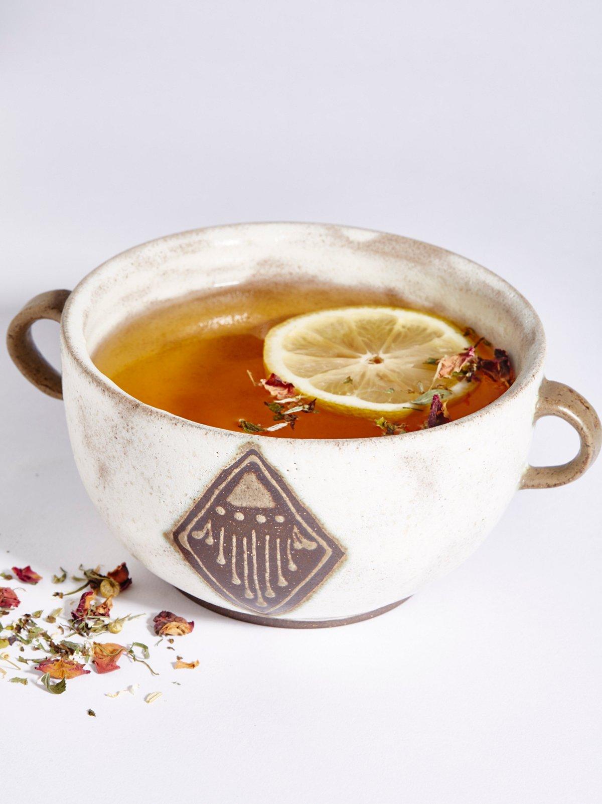 Ceramic Drinking Bowl