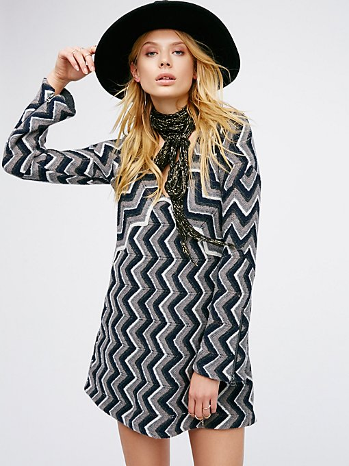 Product Image: Rhiannon Chevron Dress