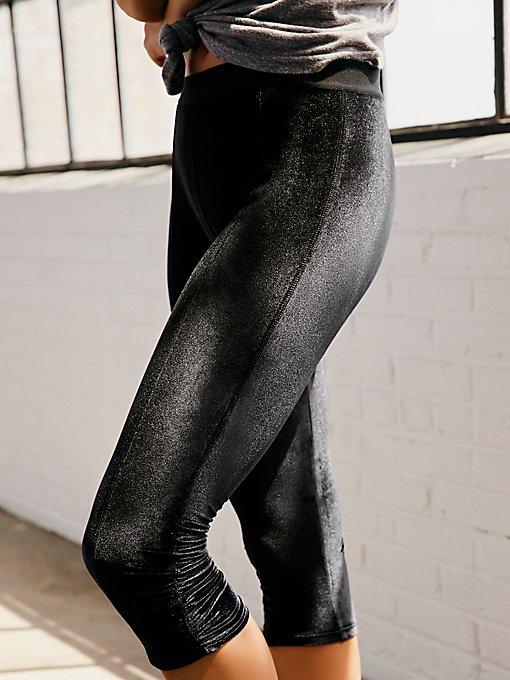 Product Image: Grace天鹅绒卡普里裤