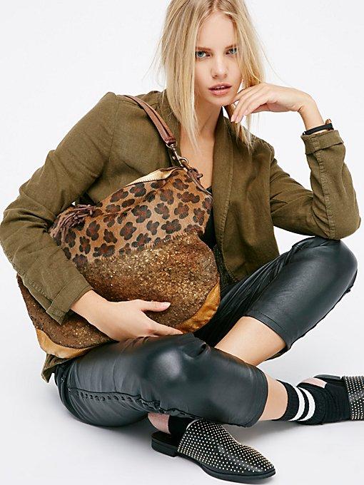 Product Image: Leonetto豹纹手提包