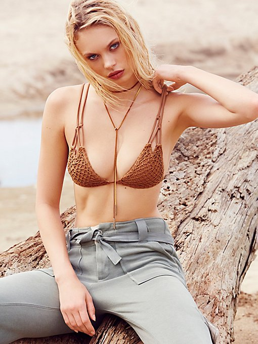 Product Image: Crochet Kekaha Bikini Top
