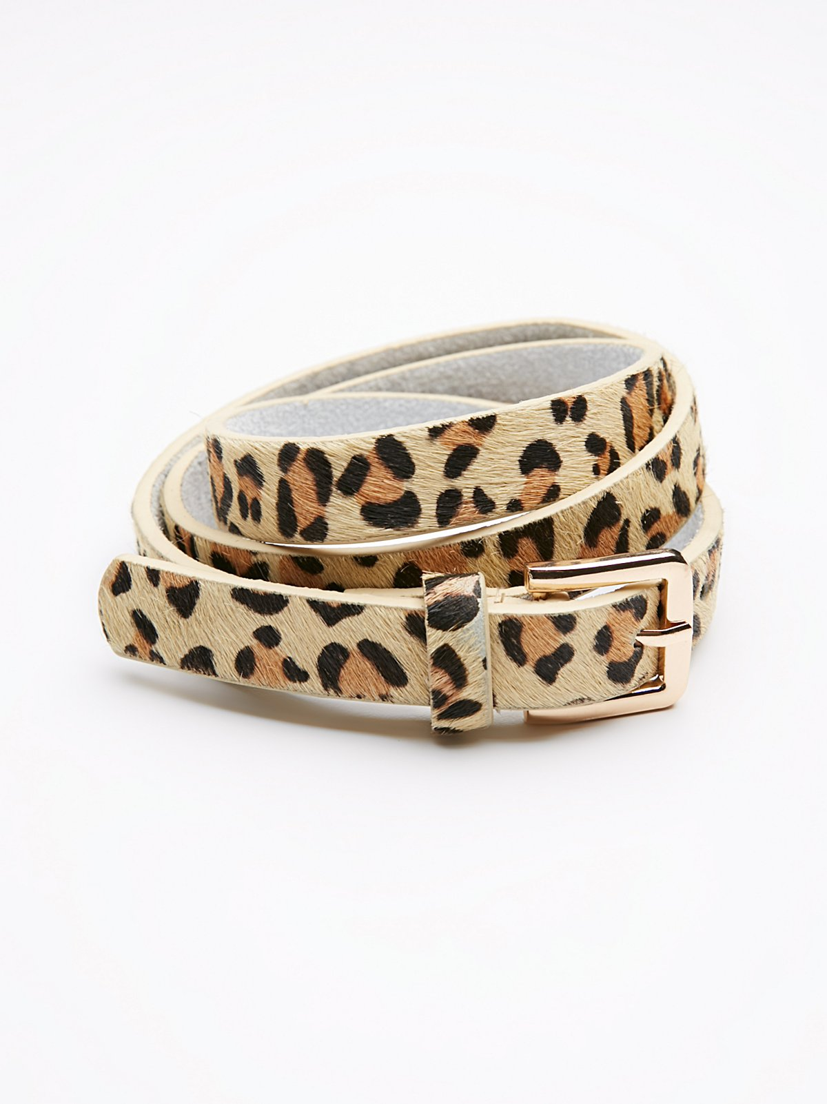 Slim Cheetah Belt