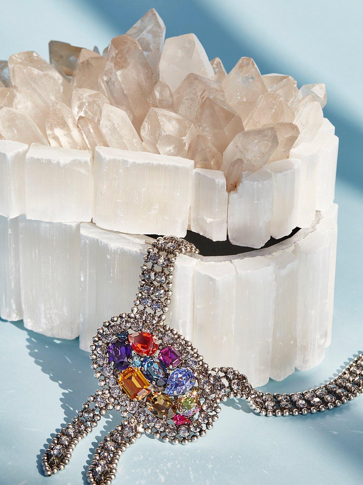 天然水晶首饰盒