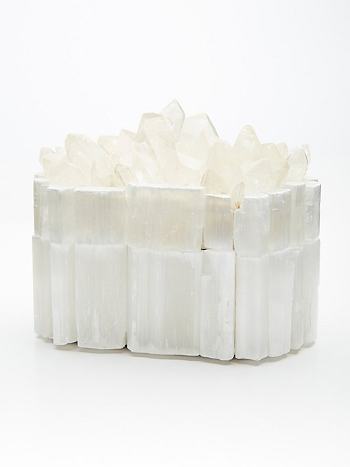 Product Image: Raw Crystal Jewelry Box