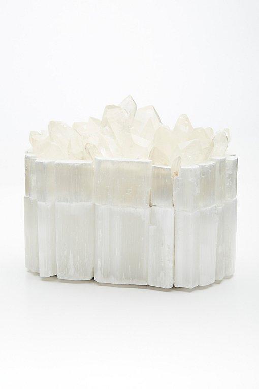 Product Image: Raw Crystal Jewelry Box