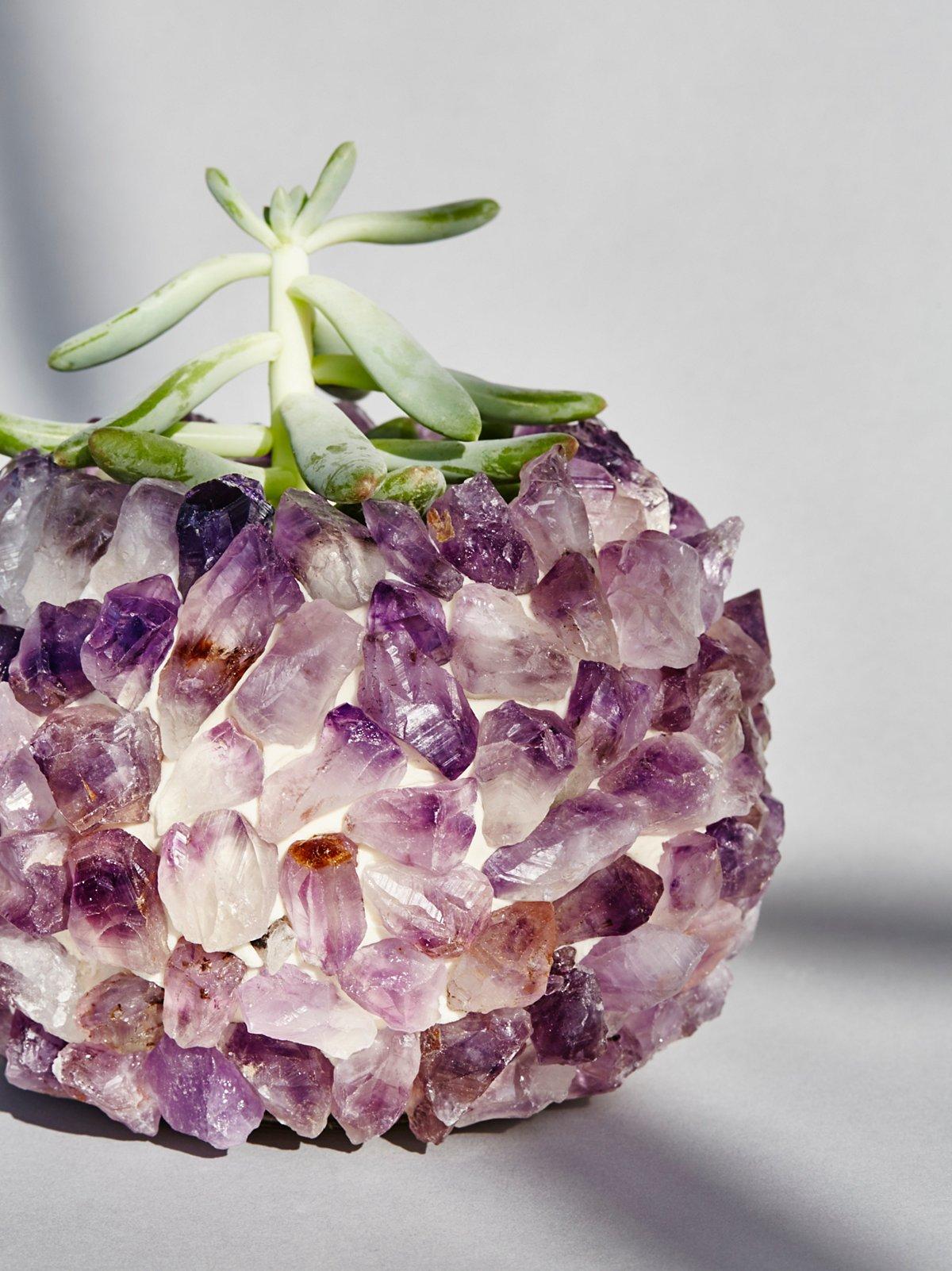 石英水晶花瓶