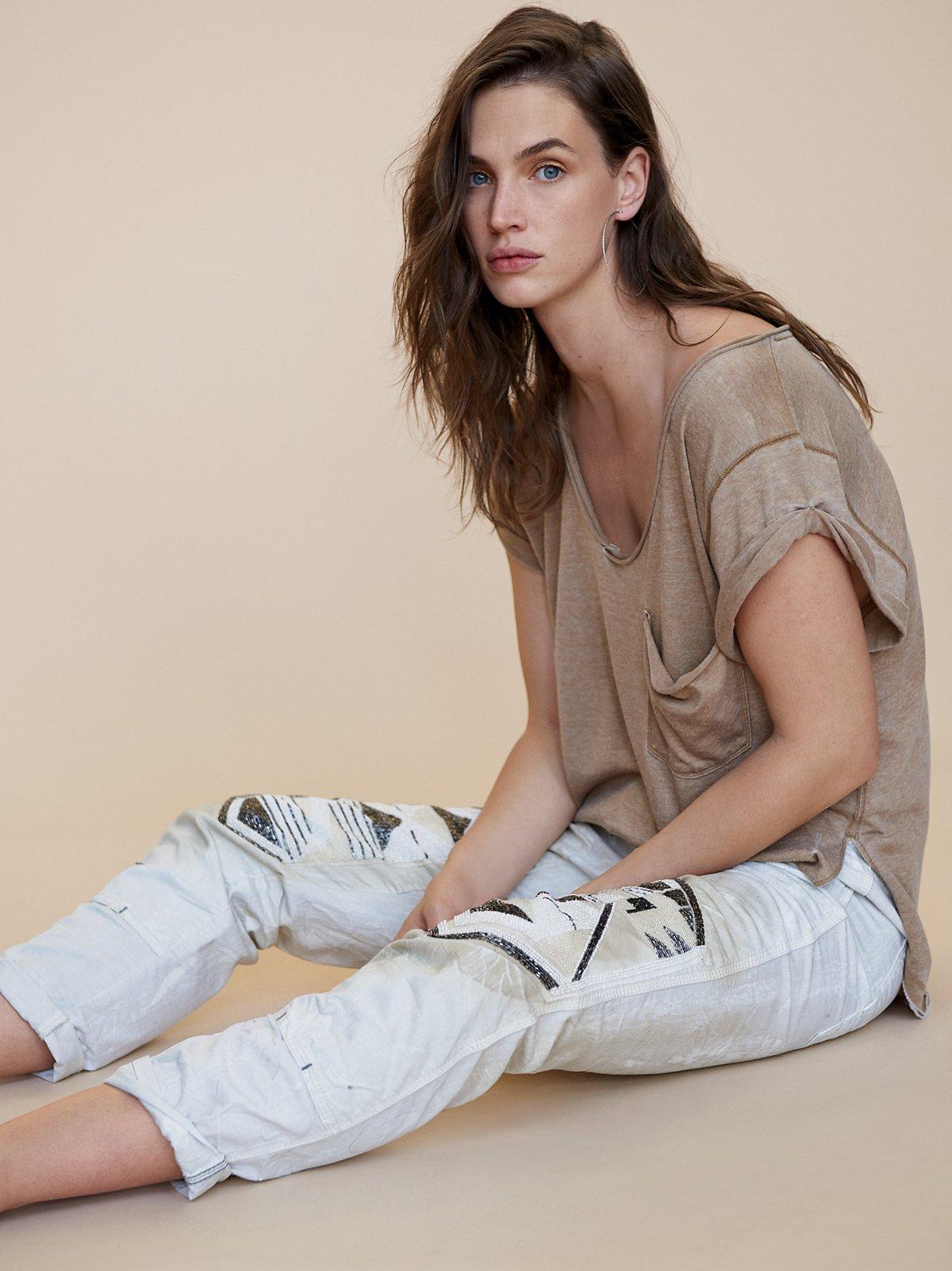 Embellished Surplus Jean