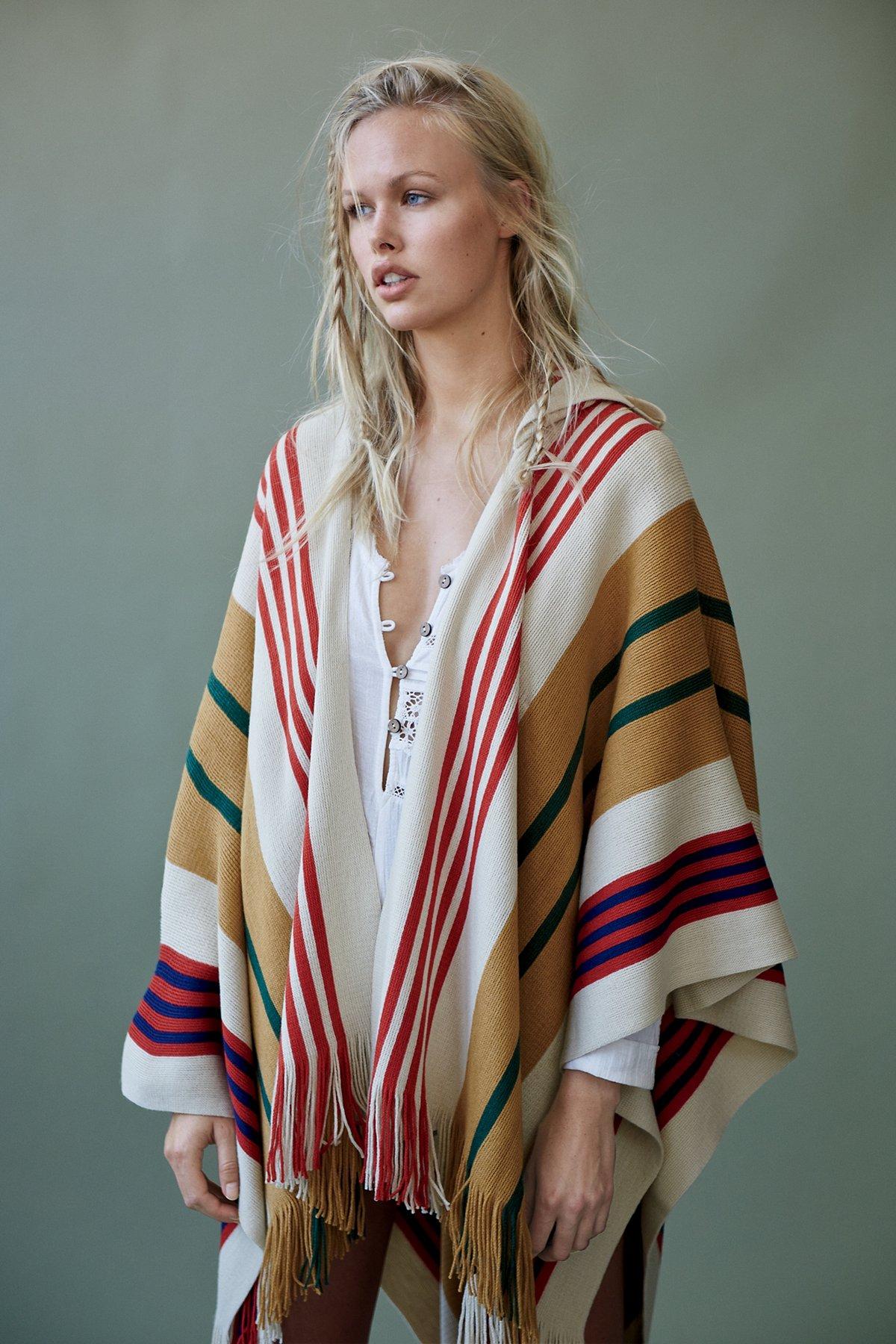 Back Bay Hooded Kimono