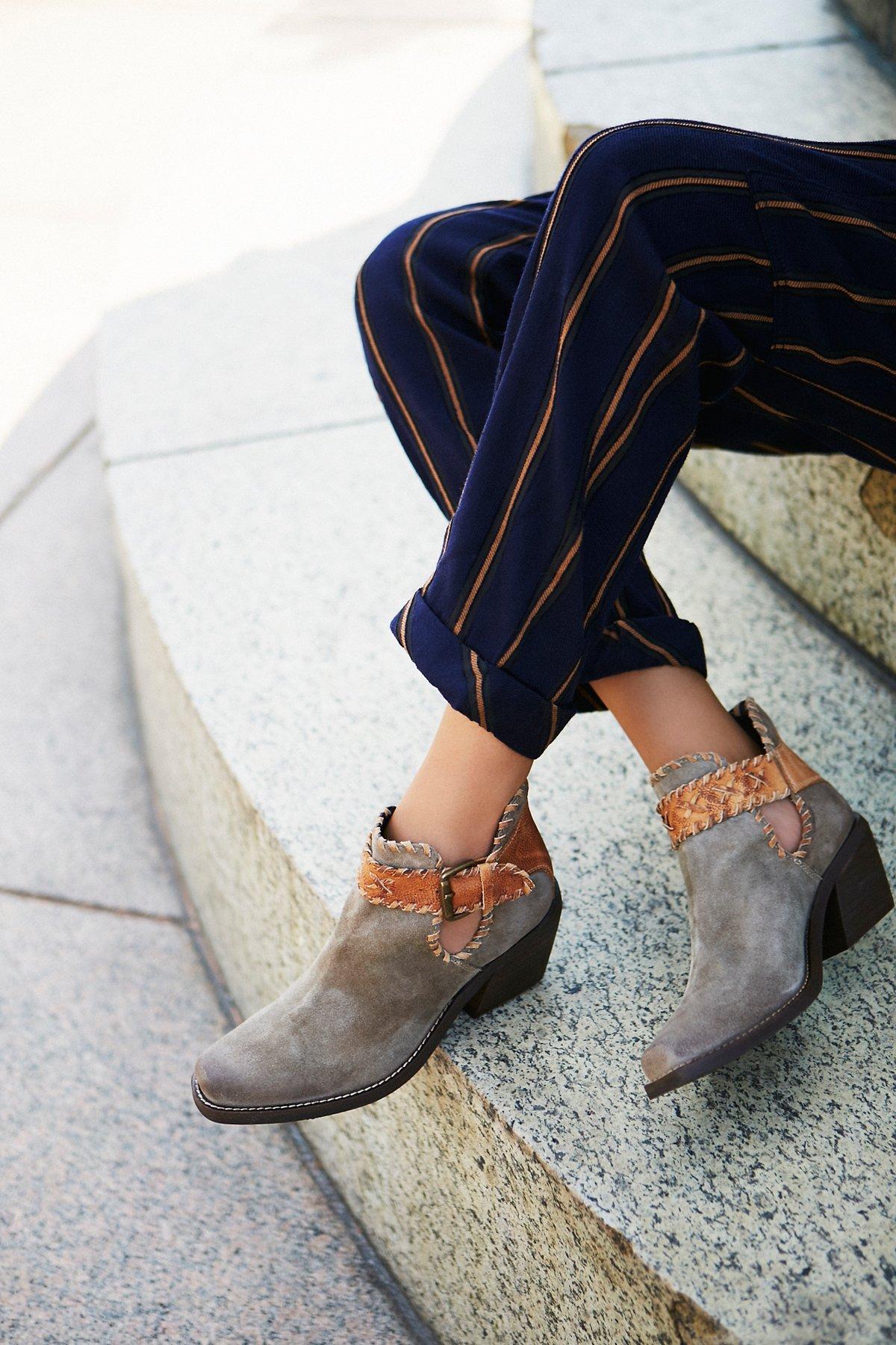 Walk The Line踝靴