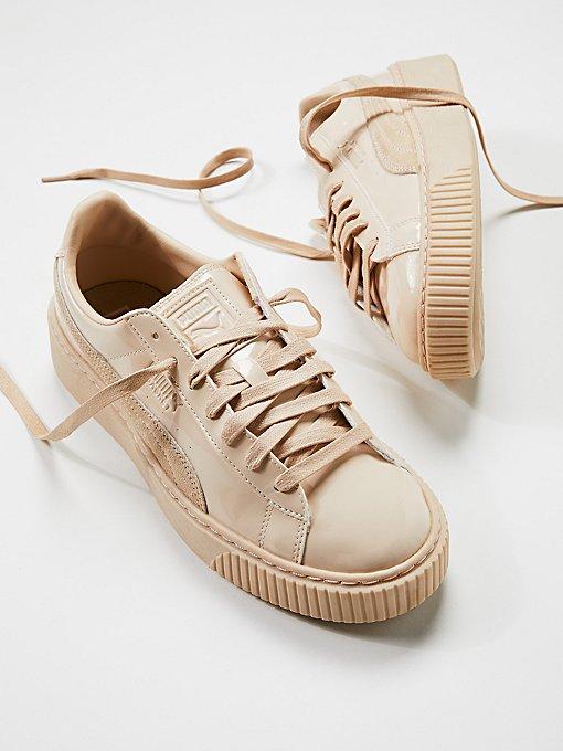 Product Image: Basket Platform Patent Sneaker