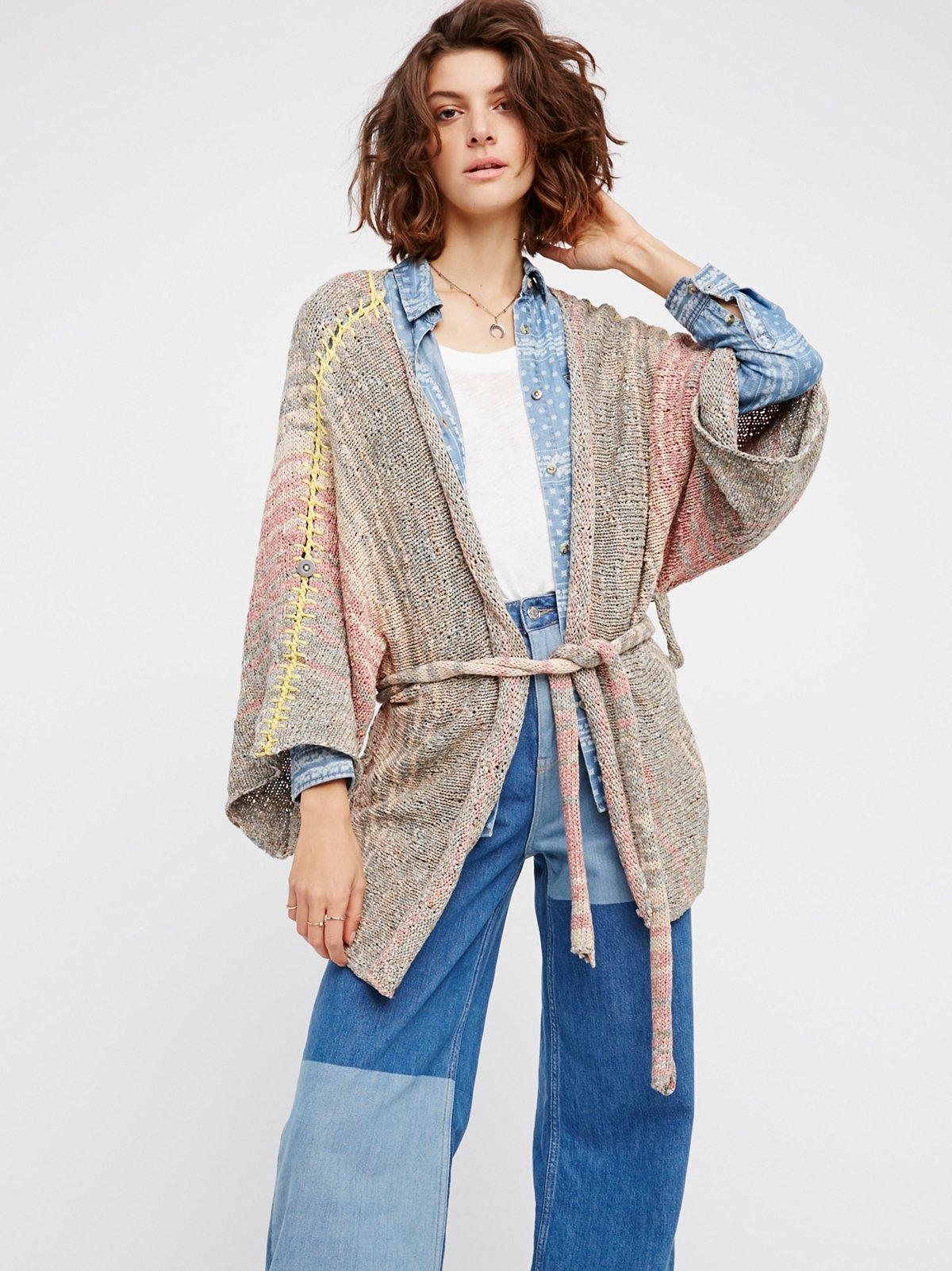 Sand Art Kimono