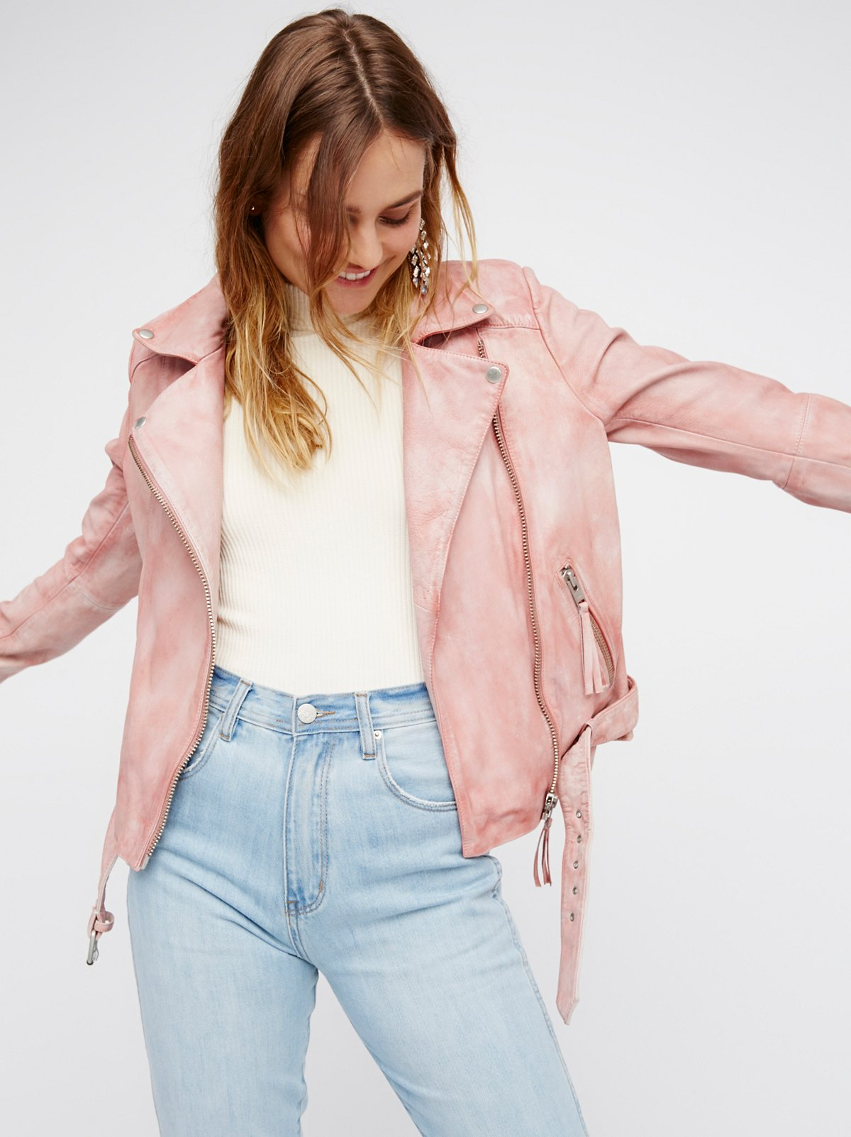 Pink Moto at Free People Clothing Boutique
