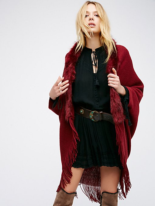 Product Image: After Party Faux Fur Kimono