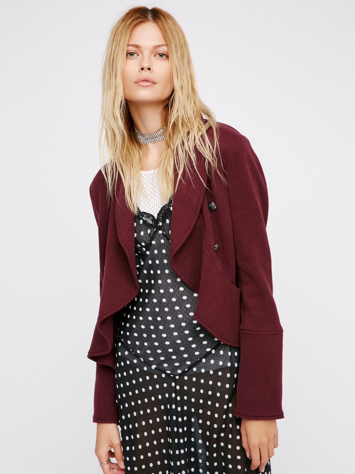 Flared and Femme Jacket