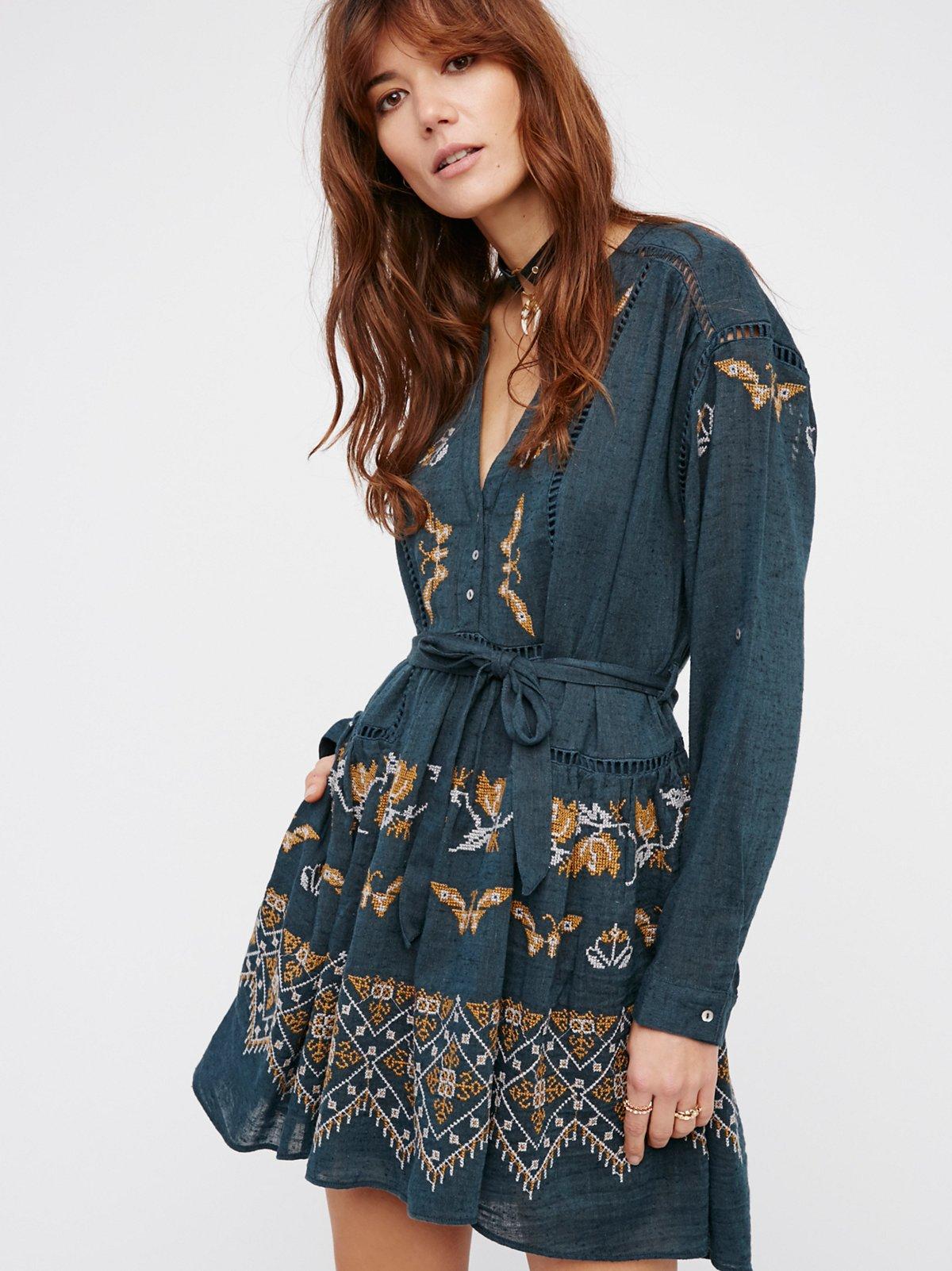 You Give Me Butterflies Dress