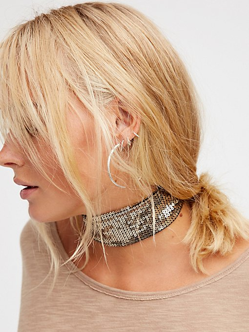 Product Image: Sienna Sequin Choker
