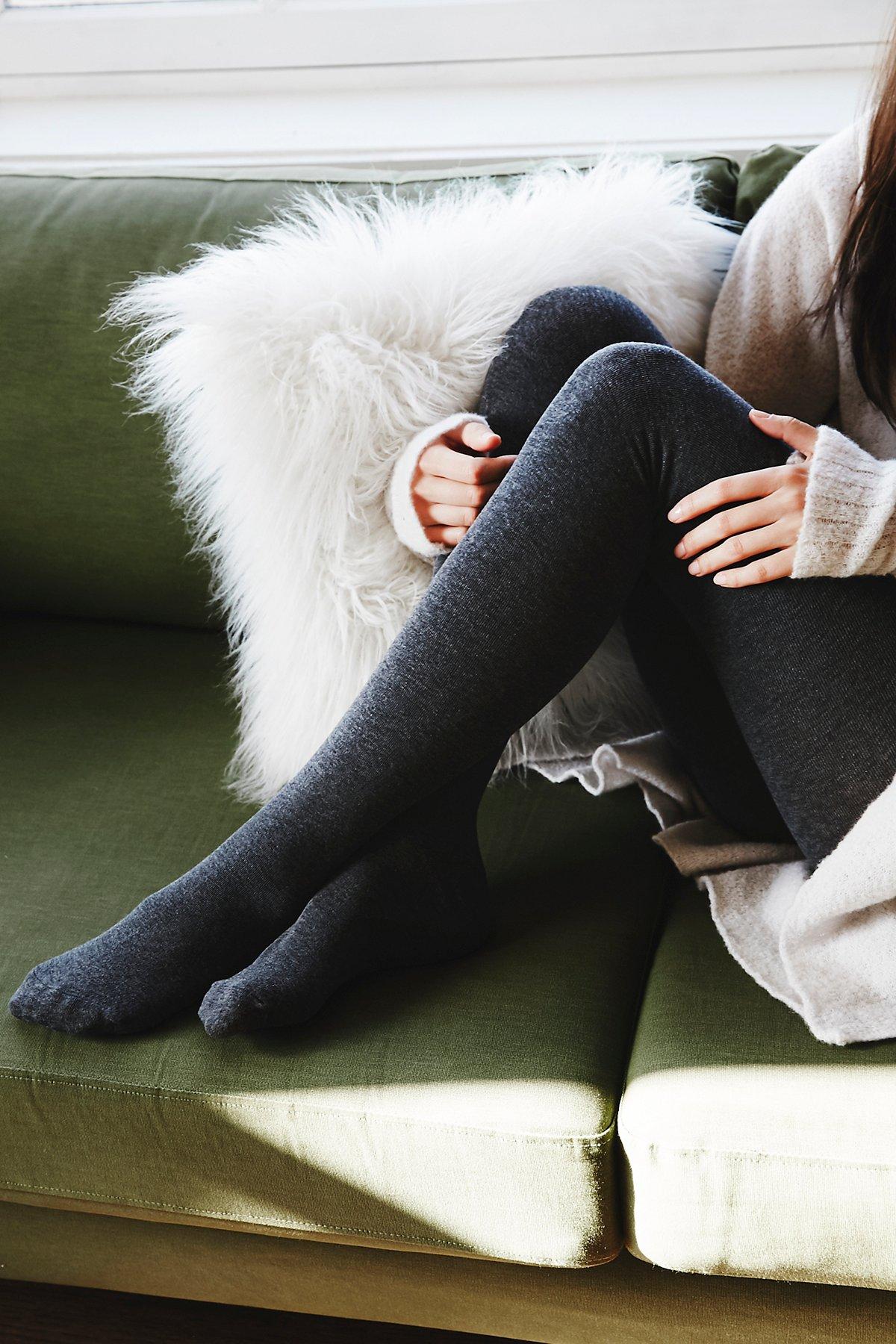 Knit Sweater Hosiery